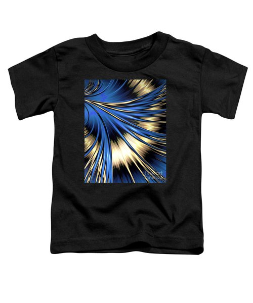 Peacock Tail Feather Toddler T-Shirt