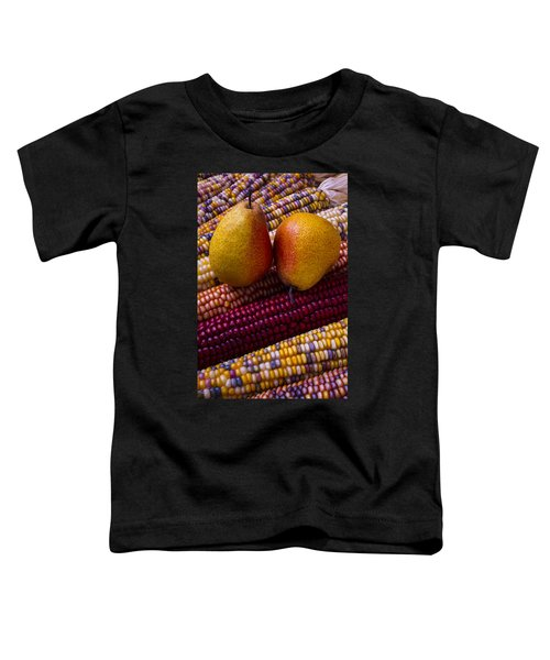 Pears And Indian Corn Toddler T-Shirt