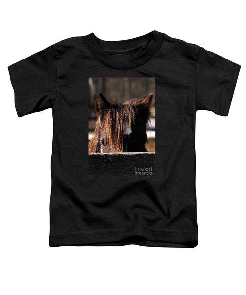 Peek-a-boo Pony Toddler T-Shirt
