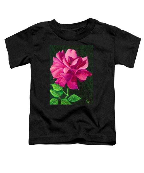 Pencil Rose Toddler T-Shirt