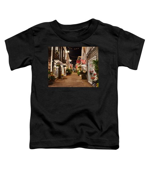 Penny Lane At Night - Rehoboth Beach Delaware Toddler T-Shirt