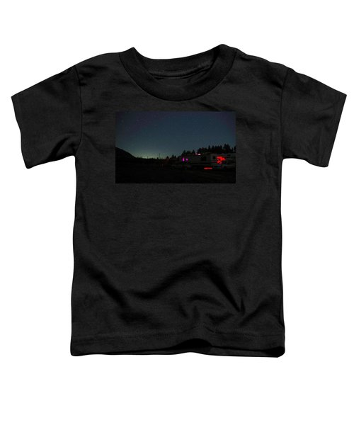 Perseid Meteor-julian Night Lights Toddler T-Shirt