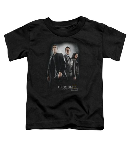 Person Of Interest - Cast Toddler T-Shirt