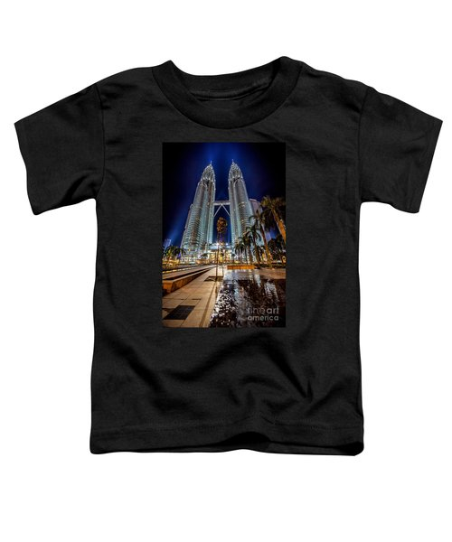 Petronas Twin Towers Toddler T-Shirt