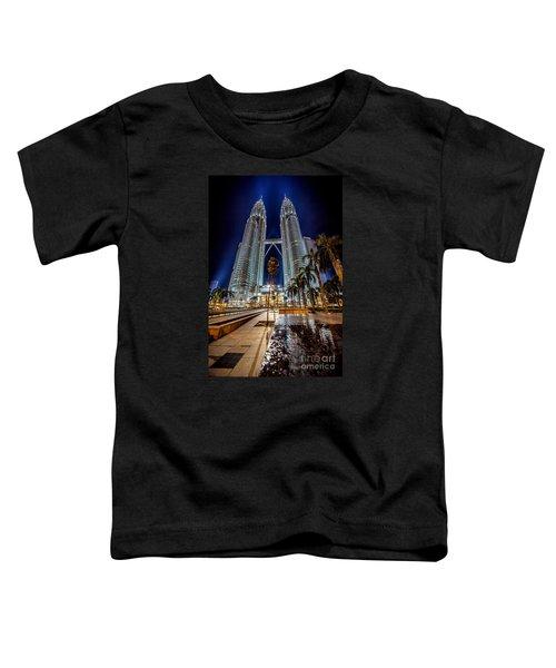 Petronas Twin Towers Toddler T-Shirt