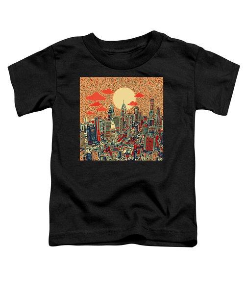 Philadelphia Dream Toddler T-Shirt by Bekim Art