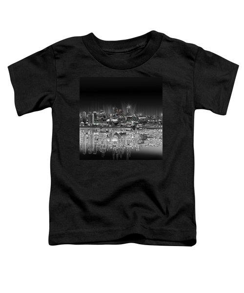 Philadelphia Skyline  Gradient Toddler T-Shirt