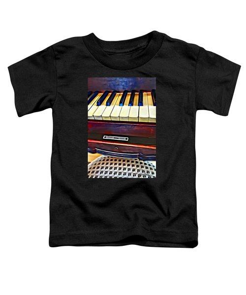 Piano And Stool Toddler T-Shirt