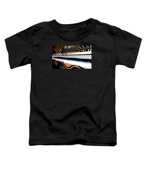 Piano In The Dark - Music By Diana Sainz Toddler T-Shirt