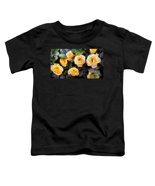 Pierre's Peach Roses Toddler T-Shirt