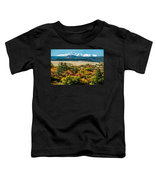 Pikes Peak Over Scrub Oak Toddler T-Shirt