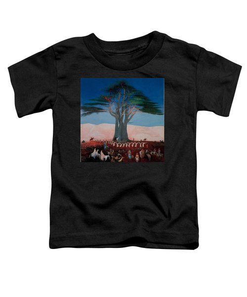 Pilgrimage To The Cedars Of Lebanon Toddler T-Shirt