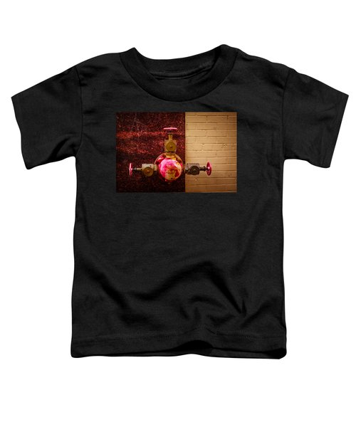 Pink And Rusted Toddler T-Shirt