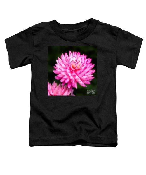 Pink Chrysanths Toddler T-Shirt