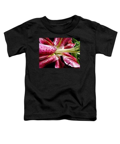 Pink Lily Macro Toddler T-Shirt