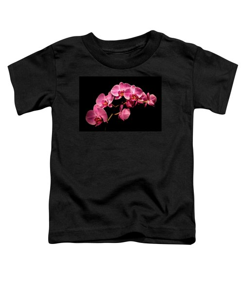 Pink Orchids 3 Toddler T-Shirt