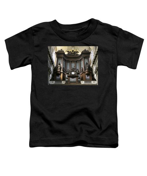 Pipe Organ In St Sulpice Toddler T-Shirt