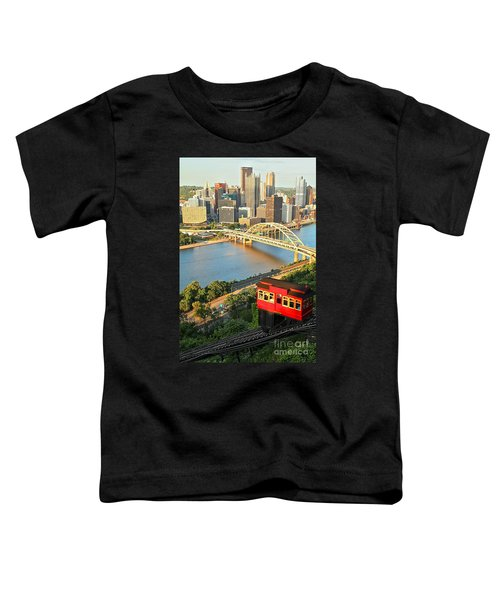 Pittsburgh Duquesne Incline Toddler T-Shirt