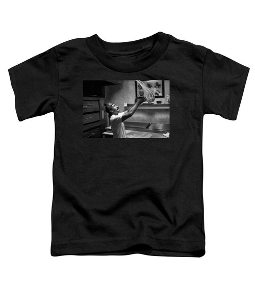 Pizza Toss Toddler T-Shirt