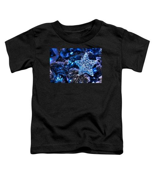 Blue Christmas Toddler T-Shirt