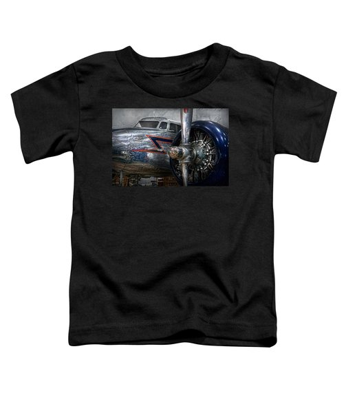Plane - Hey Fly Boy  Toddler T-Shirt