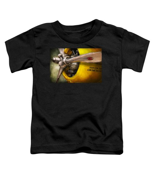 Plane - Pilot - Prop - Twin Wasp Toddler T-Shirt