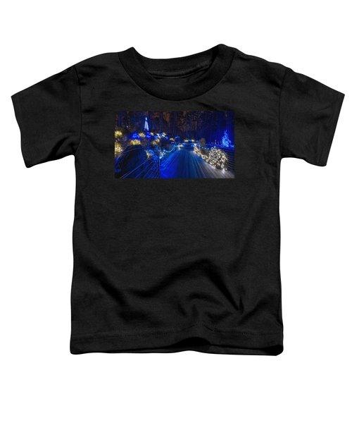 Plank Bridge - Panoramic Toddler T-Shirt
