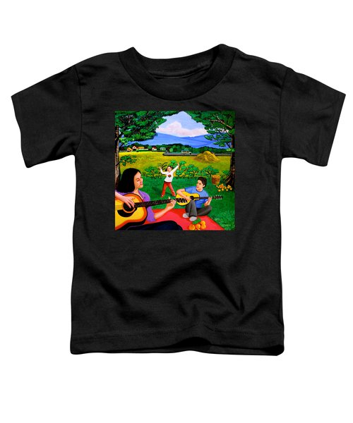 Playing Melodies Under The Shade Of Trees Toddler T-Shirt