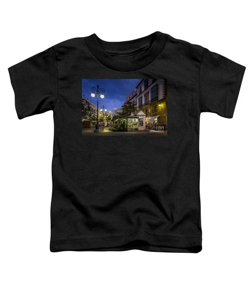 Plaza De Las Flores Cadiz Spain Toddler T-Shirt