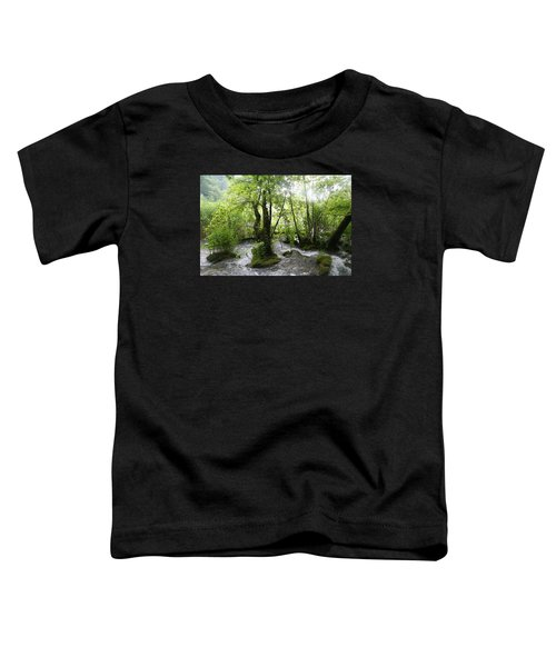 Toddler T-Shirt featuring the photograph Plitvice Lakes by Travel Pics