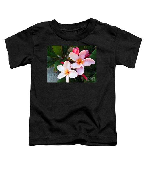 Plumeria Toddler T-Shirt