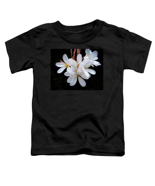Plumeria Toddler T-Shirt