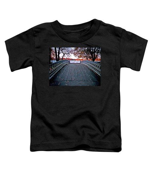 Pond Footbridge Toddler T-Shirt