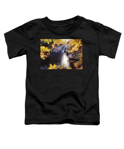 Pool And Falls Toddler T-Shirt