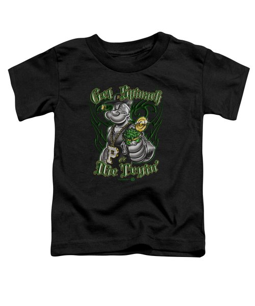 Popeye - Get Spinach Toddler T-Shirt by Brand A