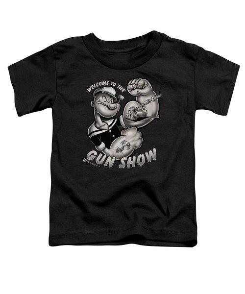 Popeye - Gun Show Toddler T-Shirt by Brand A