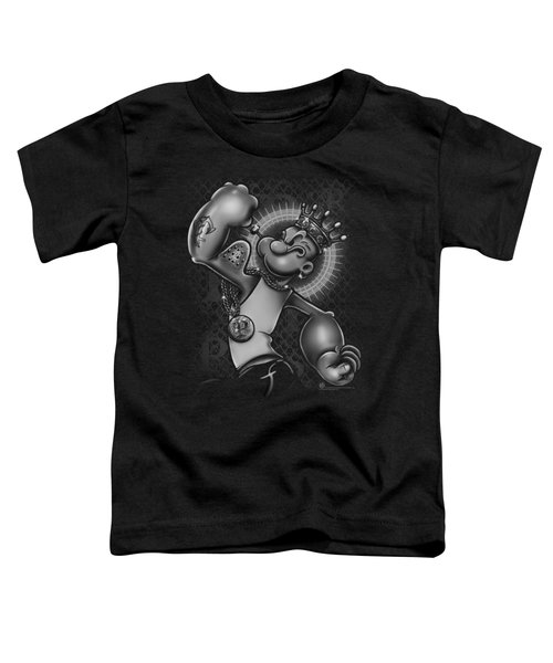 Popeye - Spinach King Toddler T-Shirt by Brand A