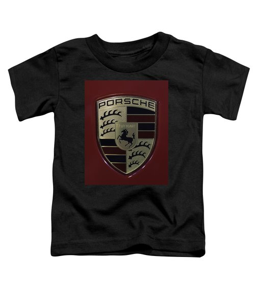 Porsche Emblem Toddler T-Shirt