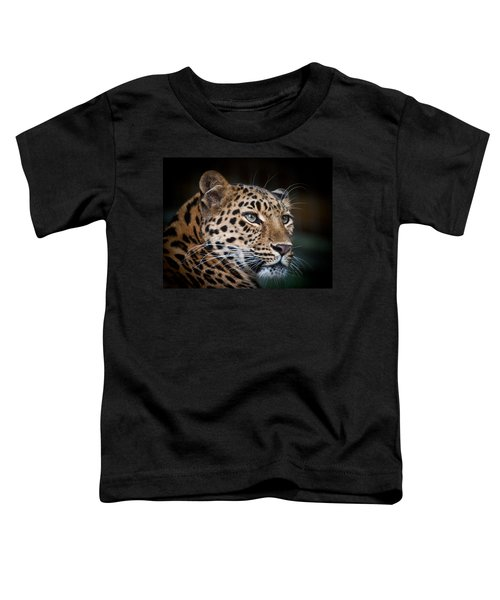 Portrait Of A Leopard Toddler T-Shirt
