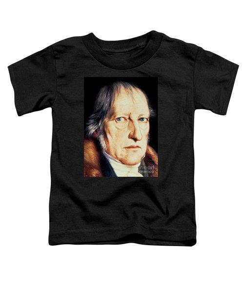 Portrait Of Georg Wilhelm Friedrich Hegel Toddler T-Shirt