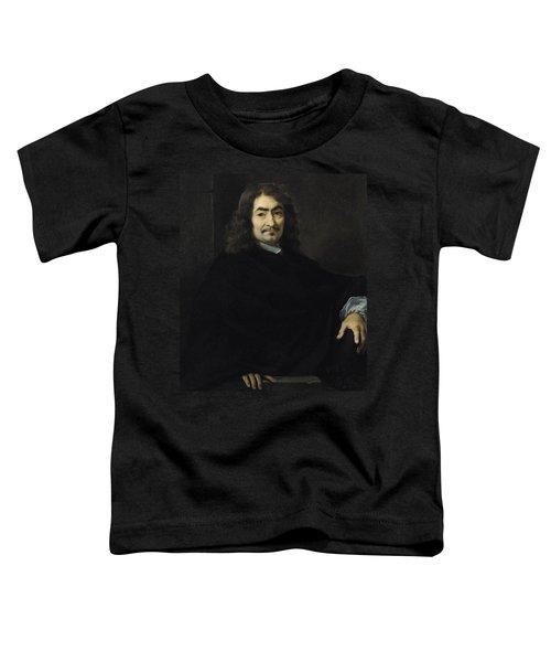 Portrait Presumed To Be Rene Descartes Toddler T-Shirt