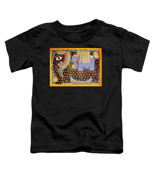 Pregnant Elephant Toddler T-Shirt