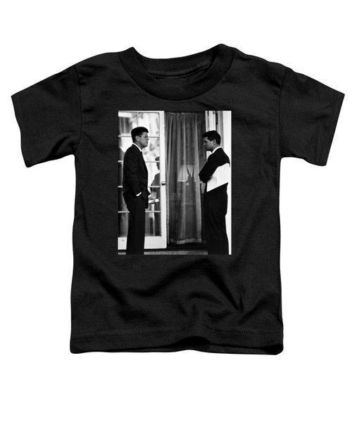 President John Kennedy And Robert Kennedy Toddler T-Shirt