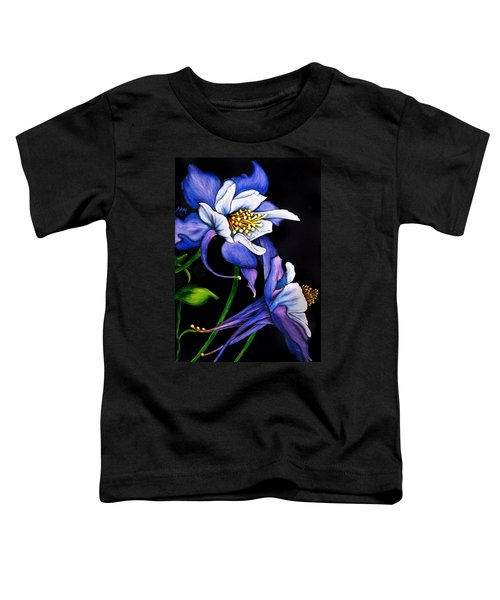 Purple Columbine Toddler T-Shirt