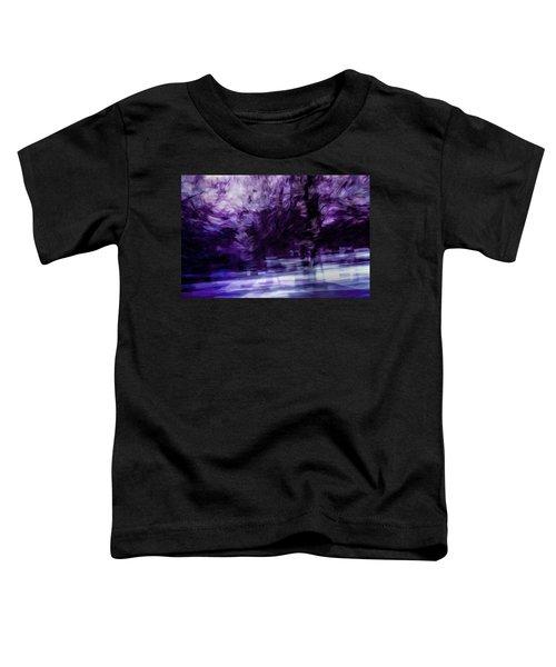 Purple Fire Toddler T-Shirt