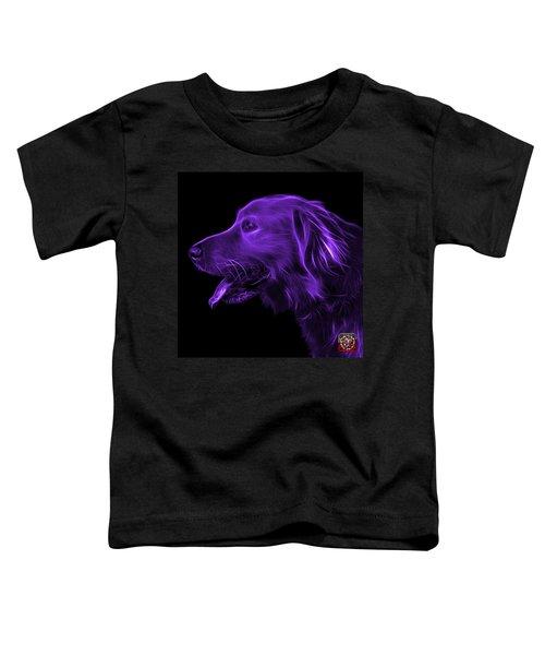 Purple Golden Retriever - 4047 F Toddler T-Shirt