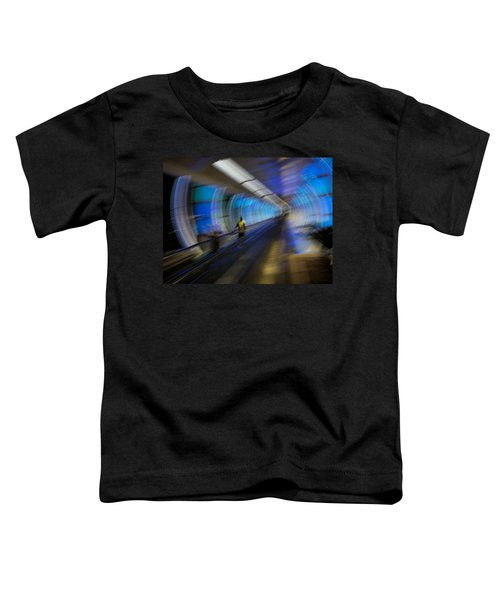 Toddler T-Shirt featuring the photograph Quantum Tunneling by Alex Lapidus