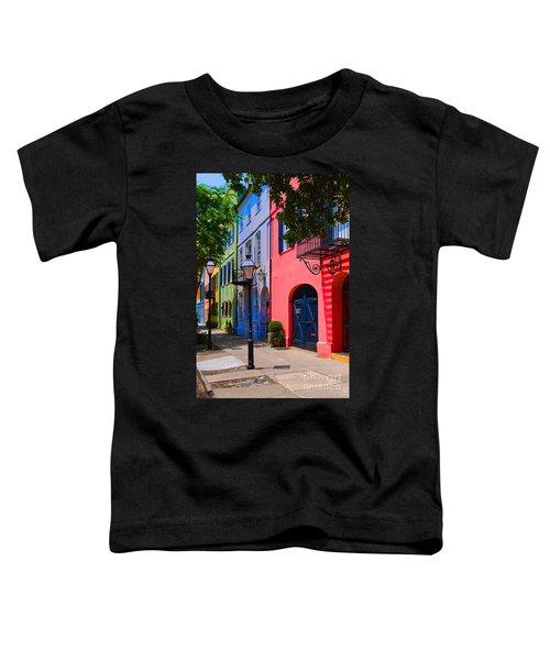 Rainbow Row Charleston Toddler T-Shirt