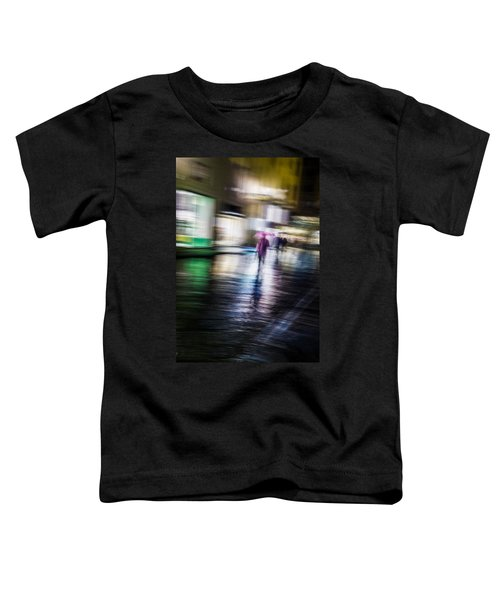 Rainy Streets Toddler T-Shirt by Alex Lapidus