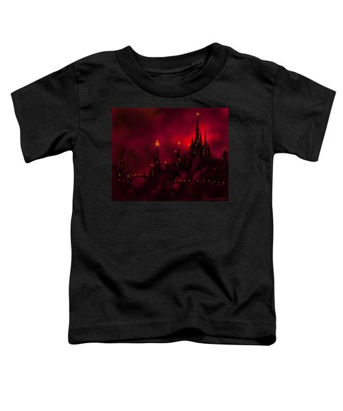 Red Castle Toddler T-Shirt